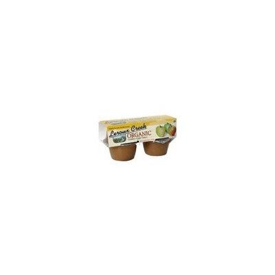 Leroux Creek Foods LeRoux Creek Organic Apple Sauce, Golden, 4-Ounce, 4-Count Cups (Pack of 6)