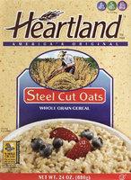 Heartland Steel Cut Oats, 24 oz Boxes, 6 pk