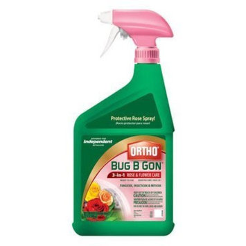 The Scotts Company Scotts Company 1601110 Ortho Bug B Gon 3 in 1 Rose and Flower Care Spray, 32-Ounce (Discontinued by Manufacturer)