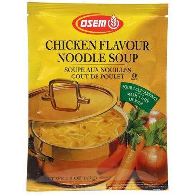 Osem Chicken Flavor Noodle Soup, 1.9-Ounce Packages (Pack of 24)