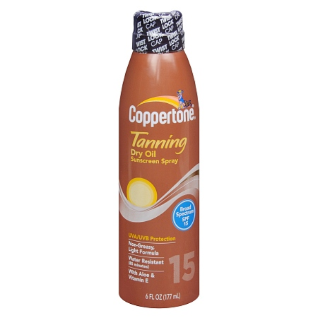Coppertone Tanning Continuous Spray SPF 15