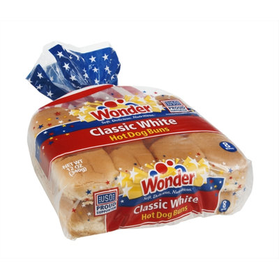 Wonder Hot Dog Buns Classic White - 8 CT