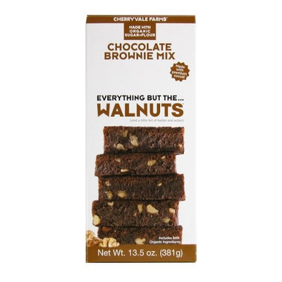 Cherryvale Farms Walnut Brownie Mix (6x13.5Oz)