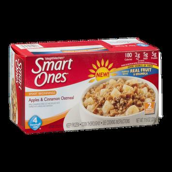 Weight Watchers Smart Ones Oatmeal Apples & Cinnamon - 2 CT