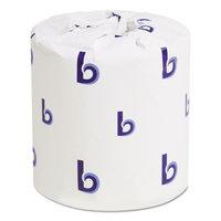Boardwalk Office Packs Standard Bathroom Tissue, 2-Ply, White, 504 Sheets/RL, 80