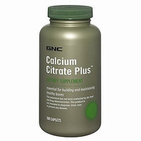 GNC Calcium Citrate Plus