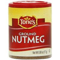 Tone's Mini's Nutmeg, Ground, 0.60 Ounce (Pack of 6)