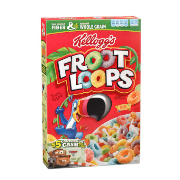 Kelloggs Kellogg's Froot Loops Cereal - 12.2 oz
