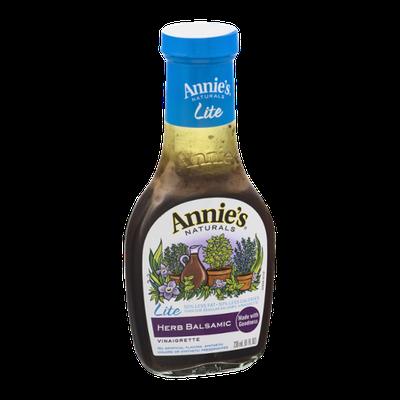 Annie's® Naturals Lite Vinaigrette Herb Balsamic