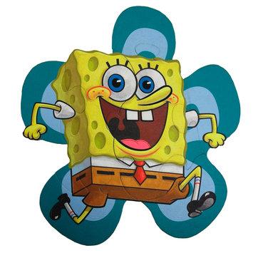 Braha Industries Inc. SpongeBob SquarePants Puzzle Pal Play Mat