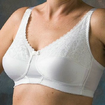 Nearly Me Lace Soft Cup Mastectomy Bra 48D