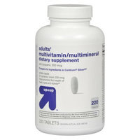 Up & Up Century Silver Multivitamin Multimineral Supplement 220-pk.