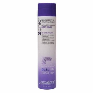 Giovanni 2chic Ultra-Replenishing Body Wash, Blackberry & Coconut Milk, 10.5 fl oz