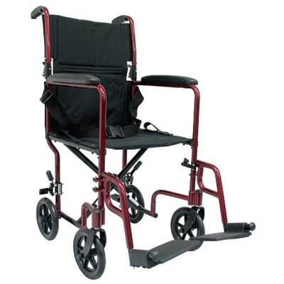 Karman 19 inch Aluminum Lightweight Transport Chair