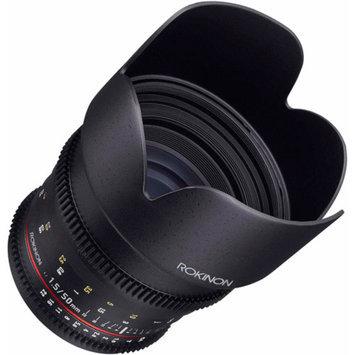 Rokinon 50mm T/1.5 DS Cine Lens (for Video DSLR Olympus/Panasonic Micro 4/3)