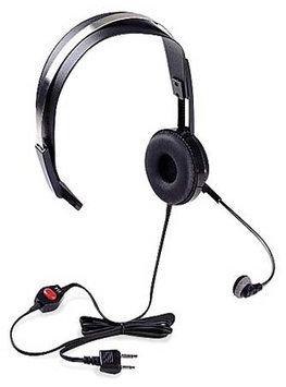 RITRON RHD-1X Headset, Over the Head, On Ear, Black, PTT