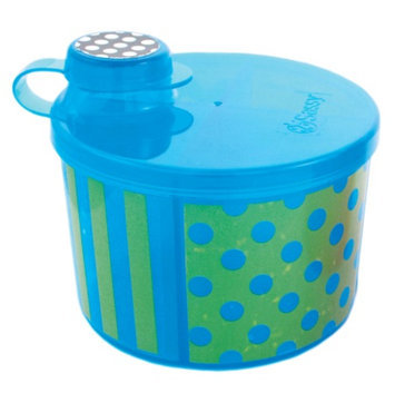 Sassy On-the-Go Formula Dispenser, Blue & Green, 1 ea