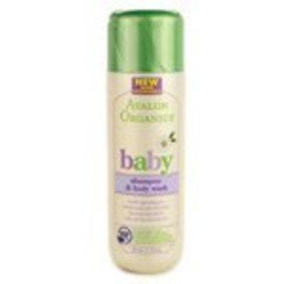 Avalon Organics Gentle Tear-free Shampoo & Body Wash, 8 -Ounce Bottle