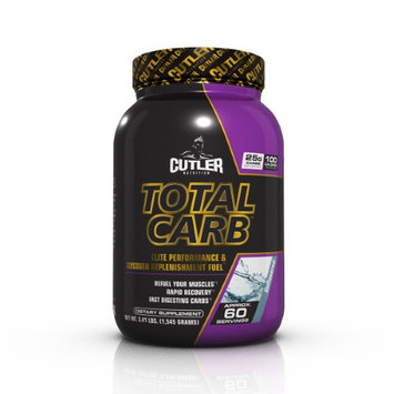 Cutler Nutrition Total Carb Unflavored - 60 Servings