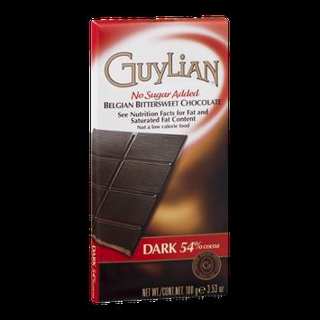 Guylian Belgian Bittersweet Chocolate No Sugar Added