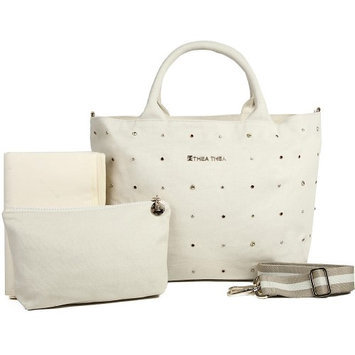 Thea Thea, Llc. THEA THEA MADISON BABY BAG IN IVORY