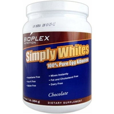 Simply (Egg) Whites - Chocolate Bioplex Nutrition 1 lbs Powder
