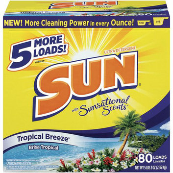 Sun Ultra Tropical Breeze Laundry Detergent with sational Scents