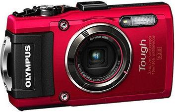 Olympus Stylus Tough TG-4 Digital Camera - Red