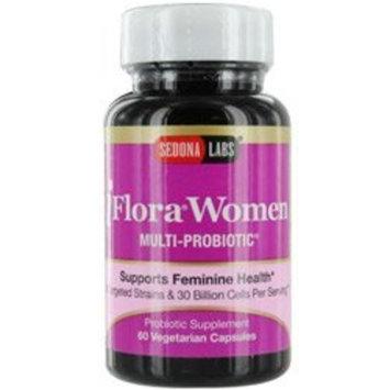 Sedona Labs Iflora Probiotic for Women Capsules, 60-Count