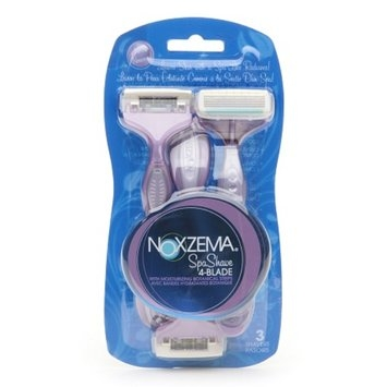 Noxzema Shaving Spa Shave 4-Blade Disposable Shavers