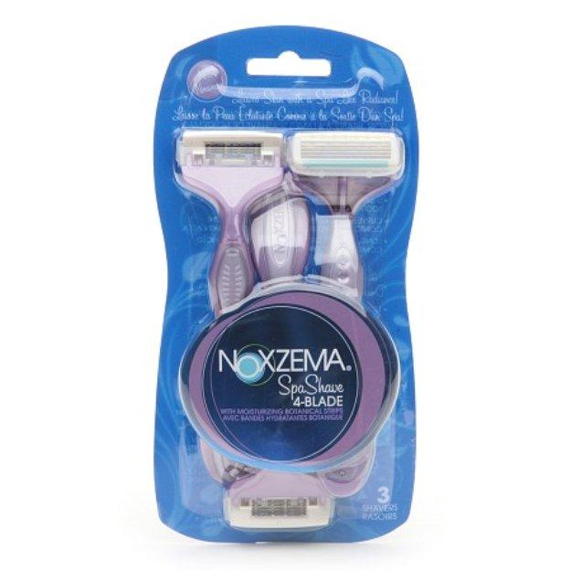 Noxzema Shaving Spa Shave 4-Blade Disposable Shavers