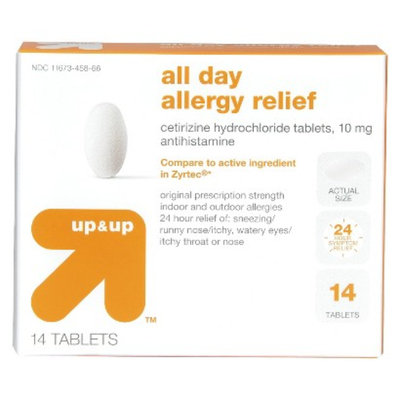 up & up All-Day Allergy Relief with Cetirizine