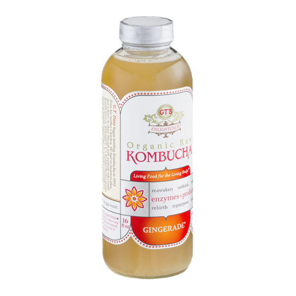 GT's Raw Organic Kombucha Gingerade