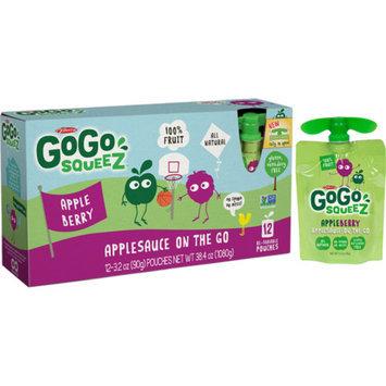 GoGo SqueeZ GoGo squeeZ appleberry 3.2oz 12pk