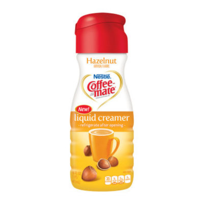 Coffeemate Hazelnut Liquid Coffee Creamer 16 oz.