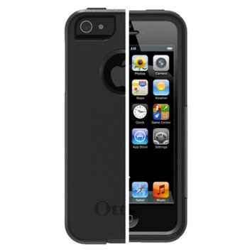 Otterbox Commuter Cell Phone Case for iPhone5 - Black (77-21912P1)