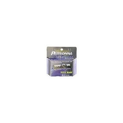 Personna Tri-Flexxx, Woman Cartridges, 4 ct