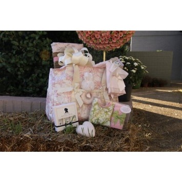 Morgan Layne She's an Angel Gift Basket for baby girl