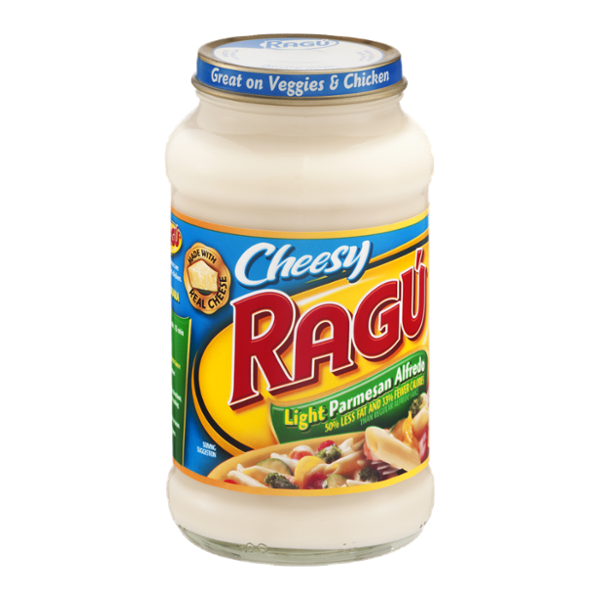 Ragu Cheesy Parmesan Alfredo Light Sauce