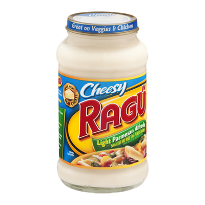 Ragu Cheesy Parmesan Alfredo Light Sauce