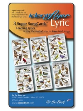 For The Birds - IdentiFlyers 3 Super SongCard Set