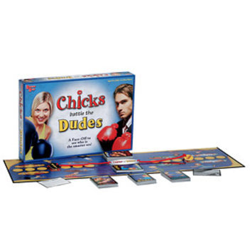 Chicks Battle The Dudes Board Game