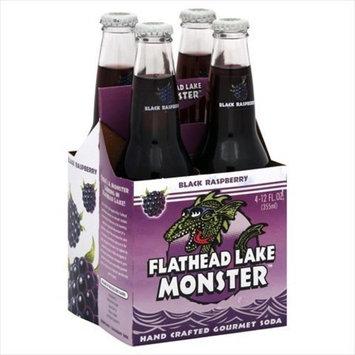 Flathead Lake Soda Blck Rspbrry 4Pk 48 OZ (Pack of 6)