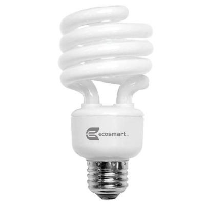EcoSmart 100W Equivalent Soft White (2700K) Spiral CFL Light Bulb (4-Pack)