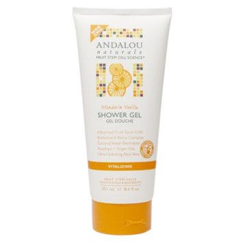 Andalou Naturals Shower Gel, Mandarin Vanilla, 8.5 fl oz