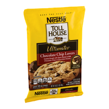 Nestlé Toll House Ultimates Chocolate Chip Lovers Cookie Dough