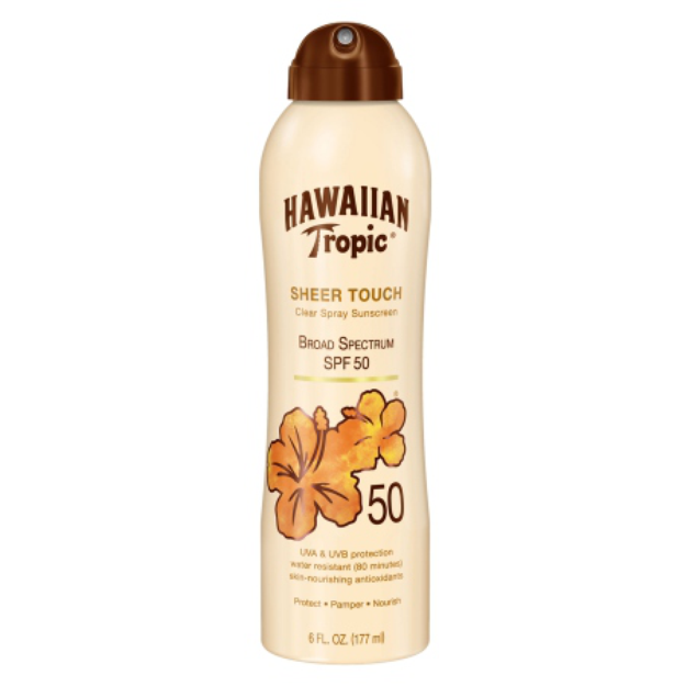 Hawaiian Tropic® Sheer Touch Clear Spray Sunscreen Broad Spectrum SPF 50