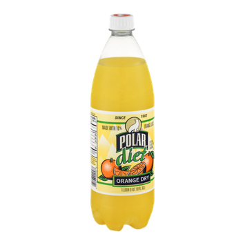 Polar Orange Juice Diet Orange Dry