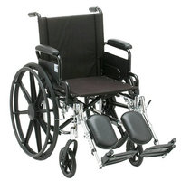 Nova Wheelchair Lightweight w/ Removable Arms & Elevating Leg Rests