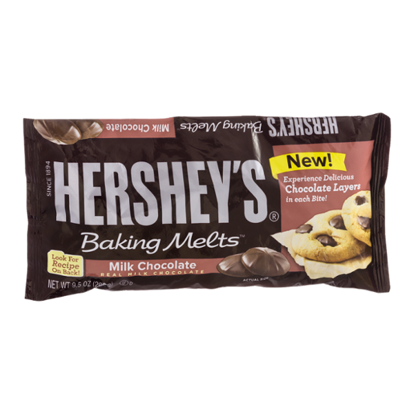 Hershey's Baking Melts Milk Chocolate